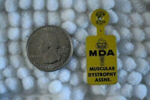 MDA-Muskeldystrophie-Assn-Vintage-Tab-Uberschlagtasche-Pinback-Button-23273