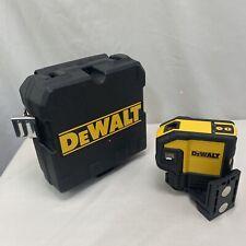 Dewalt Dw0851 Self Leveling Spot Beams And Horizontal Line 5 Dot Red Laser