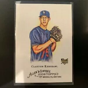 2008-ALLEN-amp-GINTER-CLAYTON-KERSHAW-ROOKIE-CARD-RC-DODGERS-72