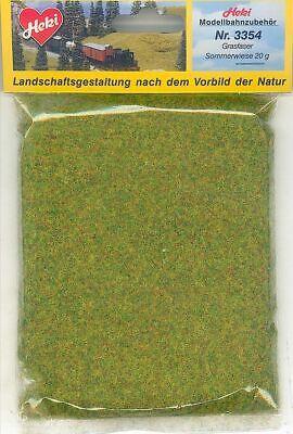 Fornitura Heki 3354 - Grasfaser Sommerwiese 20g - Nuovo Corrispondenza A Colori