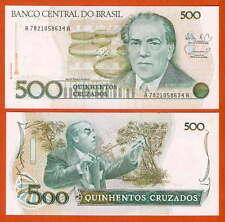 P212d   Brasilien / Brazil  500  Cruzados  1988  UNC