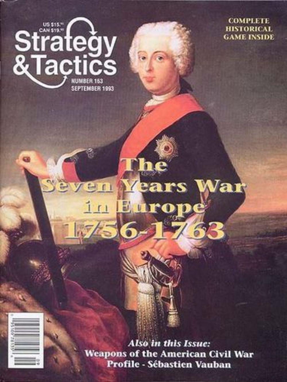 Strategie & Taktik Zeitschrift Nummer Nummer Nummer 163 The Seven Jahre Krieg in Europa - 2dd97c