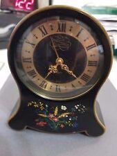 Petite Neuchateloise Swiss Made Musical 2 Day Jaeger Alarm Art Deco  Clock