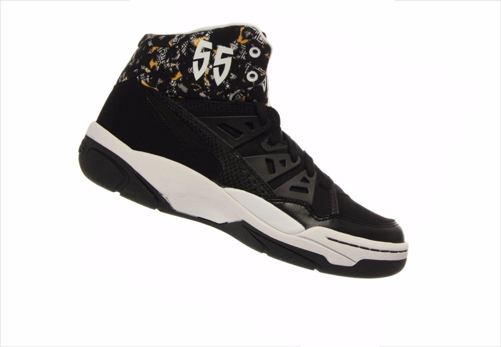 Men's Adidas Mutumbo Black/White - Casual Mid-Tops Basketball - Black/White C75208 a1b194