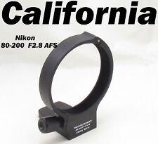 Black Metal Tripod Collar Mount Ring for Nikon AFS 80-200mm f/2.8D F2.8 D ED