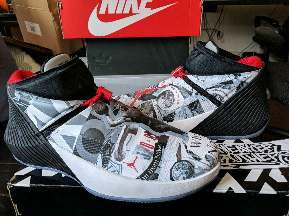 Nike Jordan Why Not Zer0.1 Mirror Image Russell Westbrook Air White AA2510-104