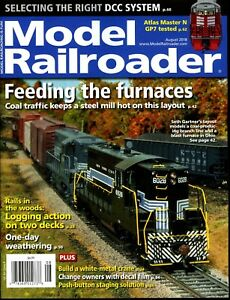 Model Railroader Magazine August 2018 Selecting the Right DCC System