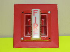 SYSTEM SENSOR SS-24 RED FIRE ALARM STROBE W/ MP-SF MOUNT SS24 ALARM (20+ AVAIL)