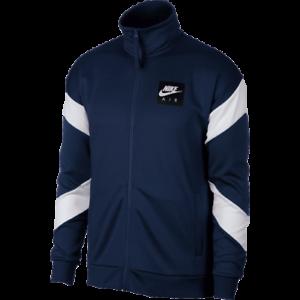Men's Navy Nsw Full New Air Zip Black White Nike Jacket yOvmn0wN8