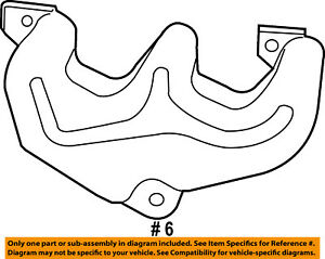 Genuine Chrysler 4666037AA Exhaust Manifold Shield
