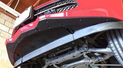 ProTEKt 14-19 Chevrolet Corvette C7 Stingray Custom Fit Front Bumper Skid Plates