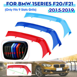 Clip-Couverture-Grille-Calandre-Kidney-M-Couleur-Pour-BMW-1-Series-F20-F21-15-16