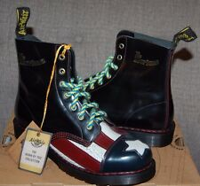 Rare Dr Doc Martens Con-Gress Limited Edition of 1460 American Flag Boots, 6UK