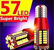 2pcs T10 CANBUS ERROR FREE 501 194 W5W LED 3014 57SMD Car LED Side Light white