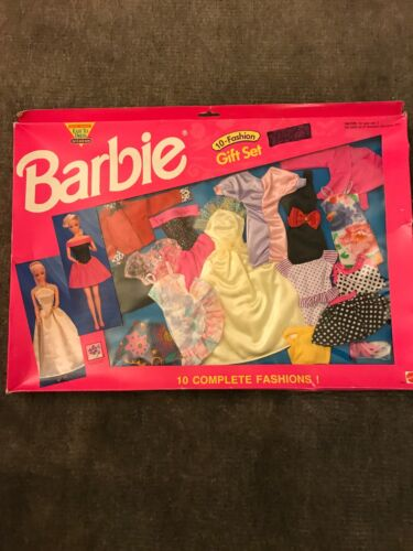 10 Piece Barbie Fashion Gift Set 1992 Mattel Toys 3 separate sets