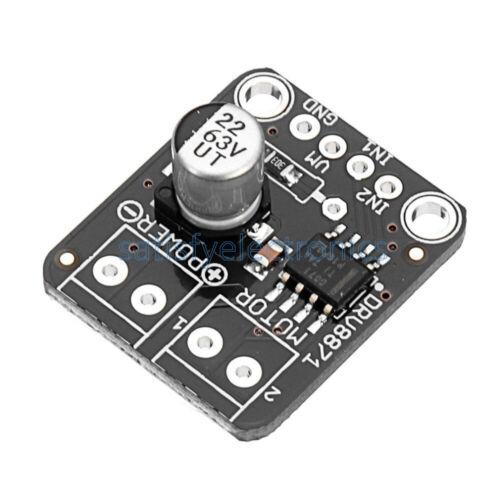 Arduino DRV8871 H-Bridge DC Motor Driver Breakout Board PWM Control Module 3.6A