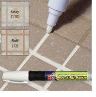 Grout Marker, Marker Renews Grout Instantly, Odorless Non Toxic For Tiles Floor