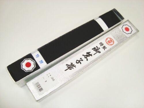 KUSAKURA  JAPAN Judo gi Kuro Obi Black Belt Kodokan Model