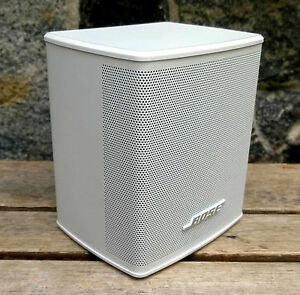 bose virtually invisible series ii cube speakers lautsprecher satelliten wei ebay. Black Bedroom Furniture Sets. Home Design Ideas