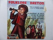 folklore breton THEO LE MAGUET PIERRE BEDARD En revenant de noce ... FY 45 2136