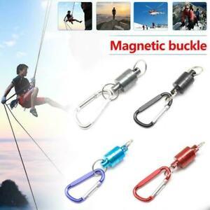Mousqueton-magnetique-D-Ring-Porte-cles-Mousqueton-Camping-en-plein-air
