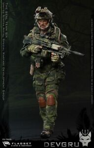 FLAGSET-1-6-Seal-6-Team-DEVGRU-Jungle-Dagger-FS-73020-12-034-Action-Figure