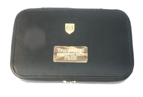 Gordon Highlanders Travel Jewellery Cufflink Box FREE ENGRAVING BKG10