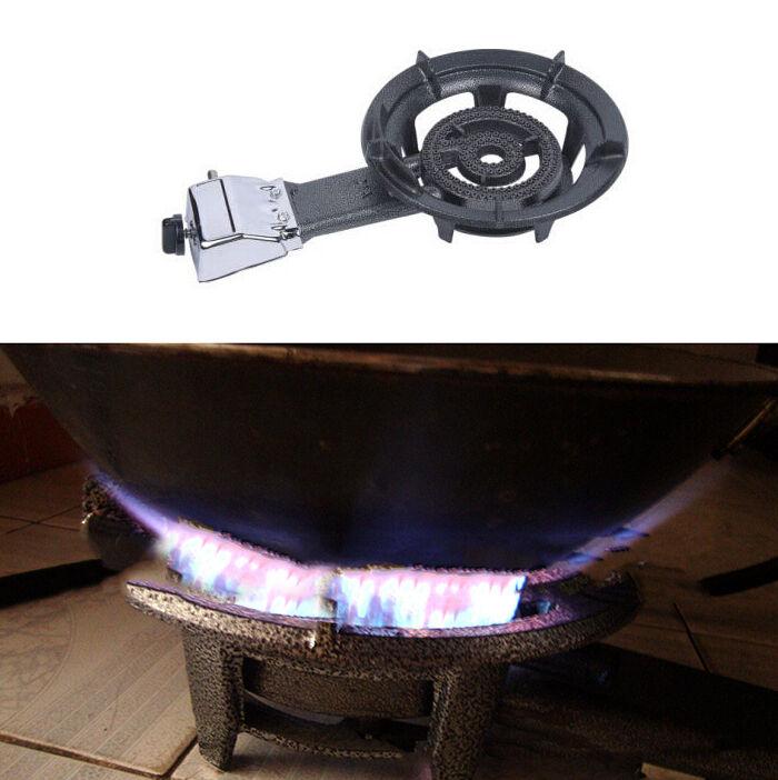 USA Portable Single Burner Cast Iron Camp Stove LP Propane Gas Outdoor Camping