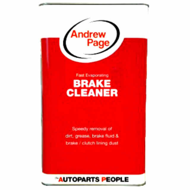 Andrew Page BRAKE CLEANER 5L - For speedy removal of dirt and grease