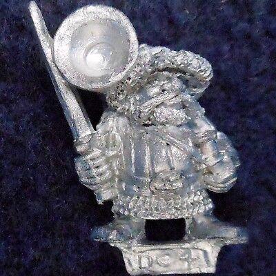 1988 Marauder Dwarf MM10//6 DC2 Command Group Officer MM10 Warhammer Army MM11 GW