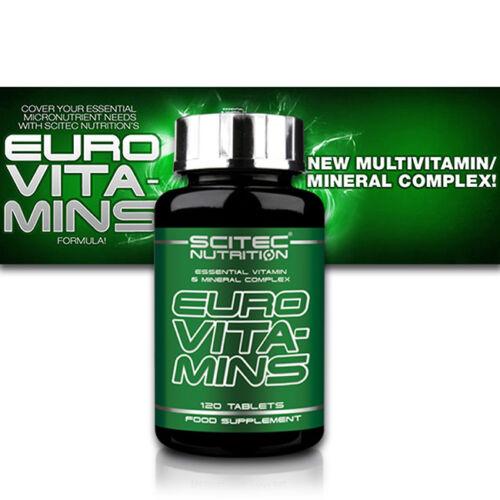 120// 240 Tabletten Vitamine /& Mineralien Euro Vita-mins Scitec Nutrition