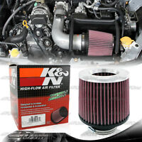 Universal K&n Round 3 Cotton Gauze Reverse Conical Tapered Air Intake Filter