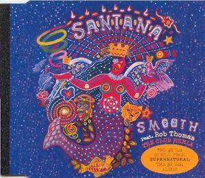 Santana-Feat-Rob-Thomas-Maxi-CD-Smooth-The-Club-Remix-Europe-M-M