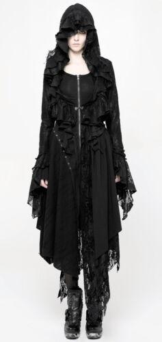 Gothique Volant Capuche Boléro Punkrave Veste Lolita Dentelle Victorian Broderie vAwpvx6q