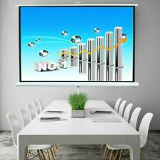 100 Tripod 43 Hd Projector Projector Screen Pull Up Indoor Outdoor Stand