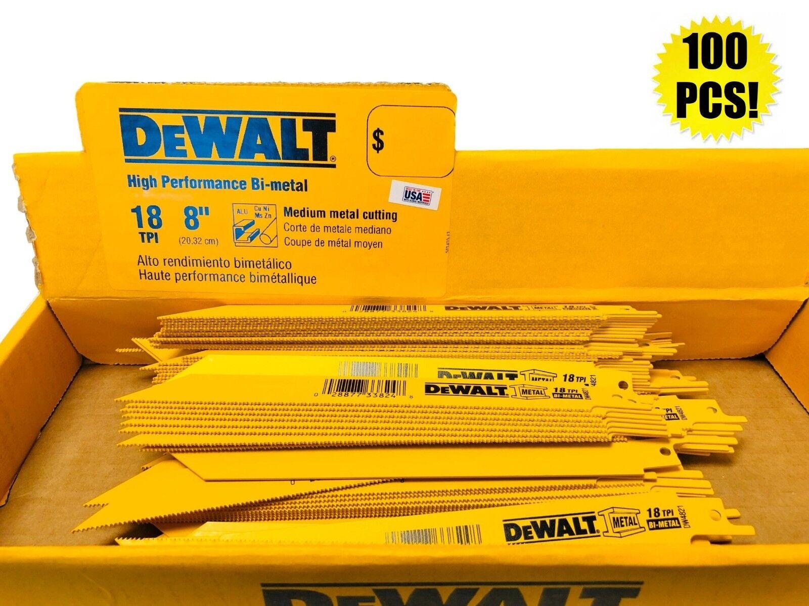 (100) DEWALT 8