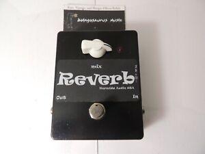 Original Hermida Audio Reverb Effects Pedal Version 1 V1 Free US Shipping