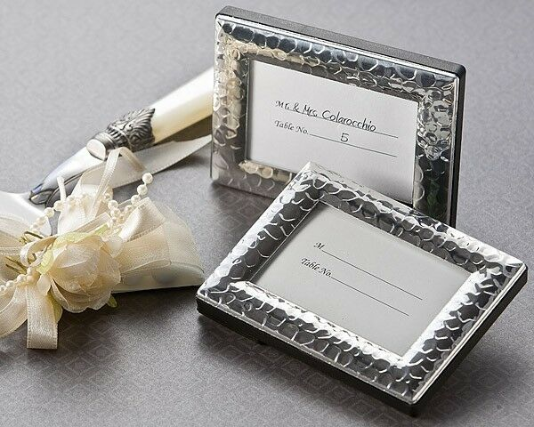 24 Capture Elegance Mini Photo Frame Place Card Holders Wedding Favors