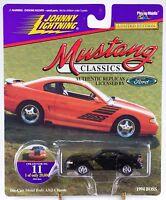 Johnny Lightning Mustang Classics 11 1994 Boss Black 1997