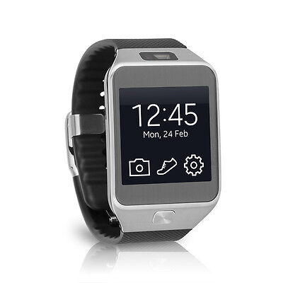 Samsung Galaxy Gear 2 Android Fitness Smartwatch SM-R380 - Silver/Black