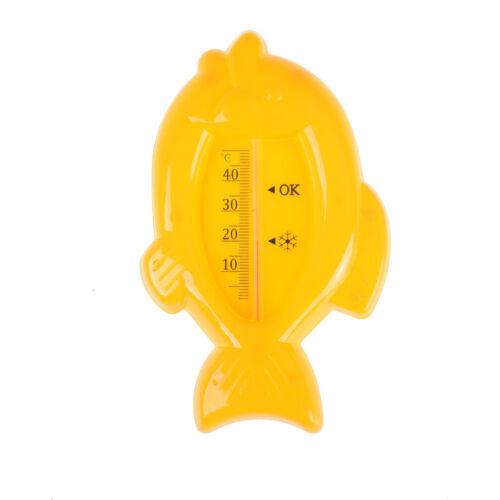 Baby Floating Fish Wasserthermometer 10-50C Schwimmer Bad Badewanne Sensor WRDE