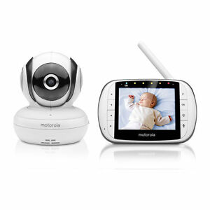 Motorola Deluxe Video & Sound Baby Monitor