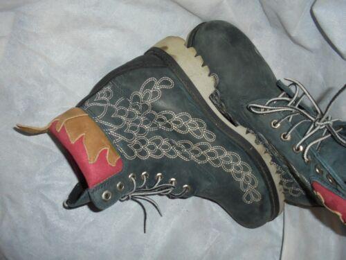 5 fuego 8 tobillo Hombres gris cordones Uk Eu Us 9m 5 con cuero Timberland de tamaño bota 42 Pn4qx7YYX