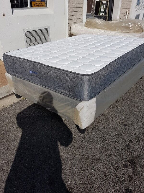 FREE DELIVERY. Base and mattress bed sets.