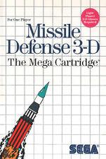 ## SEGA Master System - Missile Defense 3 D / MS Spiel ##