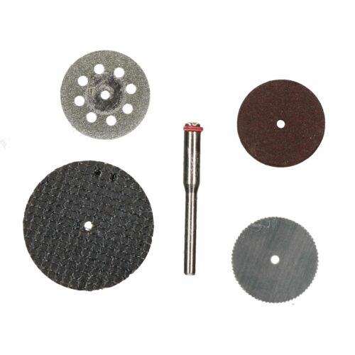 5pc Rotary Cutting /& Grinding Disc Tool Cutting Deburring Suitable for Dremel