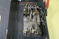 Cutler Hammer Disconnect Safety Switch 4144h343 100amp 240volt 1 Phase