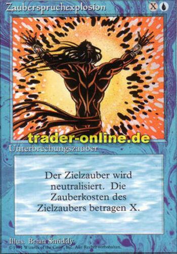 Spell Blast 2x Zauberspruchexplosion Magic limited black bordered german beta