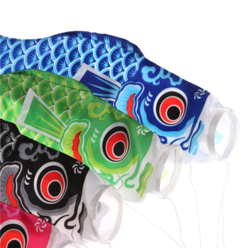 Japonais Koi carpe vent chaussette poisson drapeau kite Yard Hanging Decor