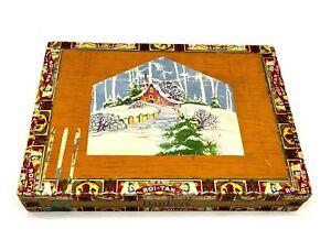 Vintage-Cigar-Box-Wood-El-Roi-Tan-Flor-Fina-Factory-No-1896-PA